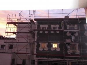 Neubau im Sonnenaufgang-1